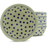7-inch Stoneware Set of 6 Bowls - Polmedia Polish Pottery H5321J