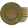 7-inch Stoneware Set of 6 Bowls - Polmedia Polish Pottery H5325J