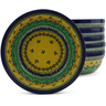 7-inch Stoneware Set of 6 Bowls - Polmedia Polish Pottery H5326J