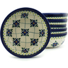 7-inch Stoneware Set of 6 Bowls - Polmedia Polish Pottery H5329I