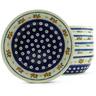 7-inch Stoneware Set of 6 Bowls - Polmedia Polish Pottery H5334J
