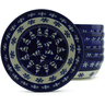 7-inch Stoneware Set of 6 Bowls - Polmedia Polish Pottery H5341J