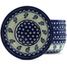 7-inch Stoneware Set of 6 Bowls - Polmedia Polish Pottery H5344J