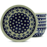 7-inch Stoneware Set of 6 Bowls - Polmedia Polish Pottery H5346J
