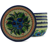7-inch Stoneware Set of 6 Bowls - Polmedia Polish Pottery H5351J