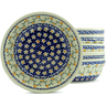 7-inch Stoneware Set of 6 Bowls - Polmedia Polish Pottery H5356J