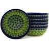 7-inch Stoneware Set of 6 Bowls - Polmedia Polish Pottery H6626E