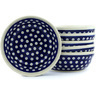 7-inch Stoneware Set of 6 Bowls - Polmedia Polish Pottery H8883F