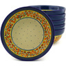7-inch Stoneware Set of 6 Bowls - Polmedia Polish Pottery H8970F