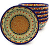 7-inch Stoneware Set of 6 Bowls - Polmedia Polish Pottery H8997F