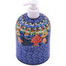 7-inch Stoneware Soap Dispenser - Polmedia Polish Pottery H0203G