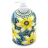 7-inch Stoneware Soap Dispenser - Polmedia Polish Pottery H7756G