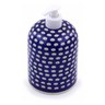 7-inch Stoneware Soap Dispenser - Polmedia Polish Pottery H7806C
