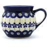 7 oz Stoneware Bubble Mug - Polmedia Polish Pottery H0929A