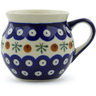 7 oz Stoneware Bubble Mug - Polmedia Polish Pottery H0930A