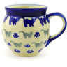 7 oz Stoneware Bubble Mug - Polmedia Polish Pottery H1826G
