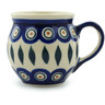 7 oz Stoneware Bubble Mug - Polmedia Polish Pottery H2817I