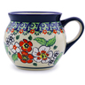 7 oz Stoneware Bubble Mug - Polmedia Polish Pottery H4358I