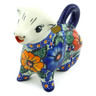 7 oz Stoneware Cow Shaped Creamer - Polmedia Polish Pottery H5200J