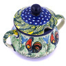 7 oz Stoneware Sugar Bowl - Polmedia Polish Pottery H0039G