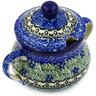 7 oz Stoneware Sugar Bowl - Polmedia Polish Pottery H1796E