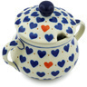 7 oz Stoneware Sugar Bowl - Polmedia Polish Pottery H1892H