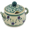 7 oz Stoneware Sugar Bowl - Polmedia Polish Pottery H2354K