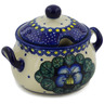 7 oz Stoneware Sugar Bowl - Polmedia Polish Pottery H2422K