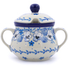 7 oz Stoneware Sugar Bowl - Polmedia Polish Pottery H2471J