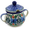 7 oz Stoneware Sugar Bowl - Polmedia Polish Pottery H3560K