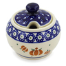 7 oz Stoneware Sugar Bowl - Polmedia Polish Pottery H4376J