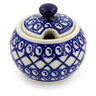 7 oz Stoneware Sugar Bowl - Polmedia Polish Pottery H4416J
