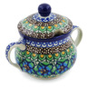 7 oz Stoneware Sugar Bowl - Polmedia Polish Pottery H7784B