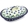 8-inch Stoneware Baker with Cover - Polmedia Polish Pottery H5416G