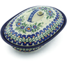 8-inch Stoneware Baker with Cover - Polmedia Polish Pottery H7723I