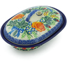 8-inch Stoneware Baker with Cover - Polmedia Polish Pottery H7726I