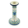 8-inch Stoneware Candle Holder - Polmedia Polish Pottery H0654I