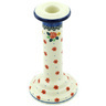 8-inch Stoneware Candle Holder - Polmedia Polish Pottery H5326H
