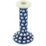 8-inch Stoneware Candle Holder - Polmedia Polish Pottery H6044H