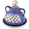 8-inch Stoneware Cheese Lady - Polmedia Polish Pottery H1175D