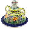 8-inch Stoneware Cheese Lady - Polmedia Polish Pottery H6577E