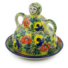 8-inch Stoneware Cheese Lady - Polmedia Polish Pottery H9942I