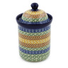 8-inch Stoneware Cookie Jar - Polmedia Polish Pottery H1415B