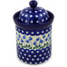 8-inch Stoneware Cookie Jar - Polmedia Polish Pottery H2319E