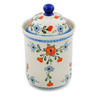 8-inch Stoneware Cookie Jar - Polmedia Polish Pottery H5422B