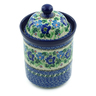 8-inch Stoneware Cookie Jar - Polmedia Polish Pottery H9009A