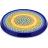 8-inch Stoneware Cutting Board - Polmedia Polish Pottery H2119D