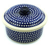 8-inch Stoneware Dish with Cover - Polmedia Polish Pottery H7325H
