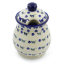 8-inch Stoneware Jar with Lid - Polmedia Polish Pottery H4134J