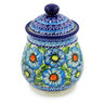 8-inch Stoneware Jar with Lid - Polmedia Polish Pottery H4362K